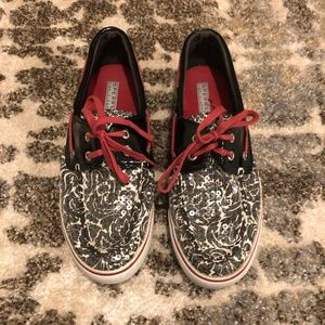 Sperry Top-Sider Sparkly Boat Shoes Size 8.5